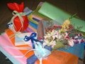 flower packing paper