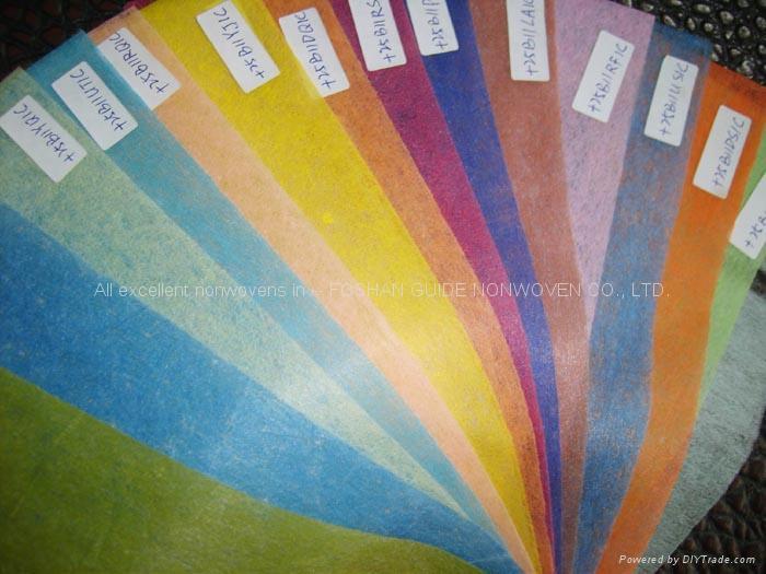 鮮花包裝布/紙(彩色浸漬無紡布) 2
