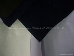 fluey/floss/fluff nonwoven