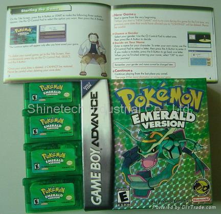 GBA-pokemon leaf green - Product Catalog - China - Shinetech