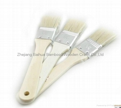 Wooden food brush