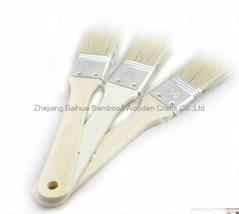 Wooden food brush
