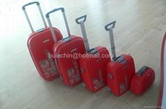 PP luggage 5pcs set