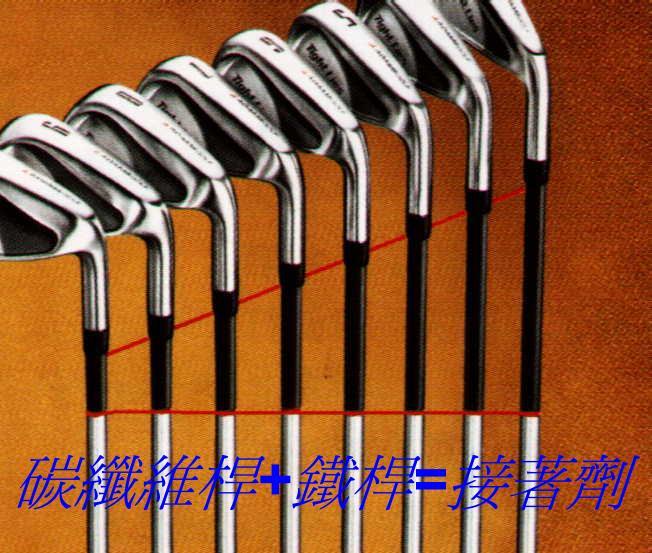 高爾夫球桿組桿專用接著劑 1