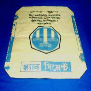 Kraft Paper Cement Bag with PE Film or Coating