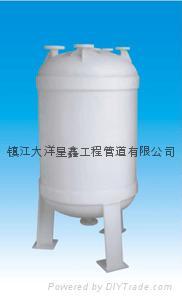 PPH儲罐化工防腐設備 2