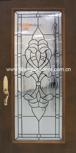 Fiberglass Entry Door Manufacturers : Fiberglass door full lite china manufacturer