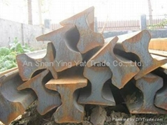 Sell steel rails and its fittings