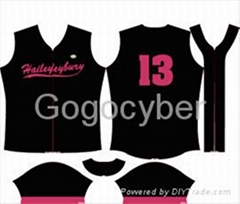 Sublimation Digital Imprinted For Athletics Jersey