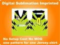 Sublimation Digital Imprinted For
