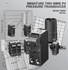 FAIRCHILD T8000型微型双线P/I压力变频器