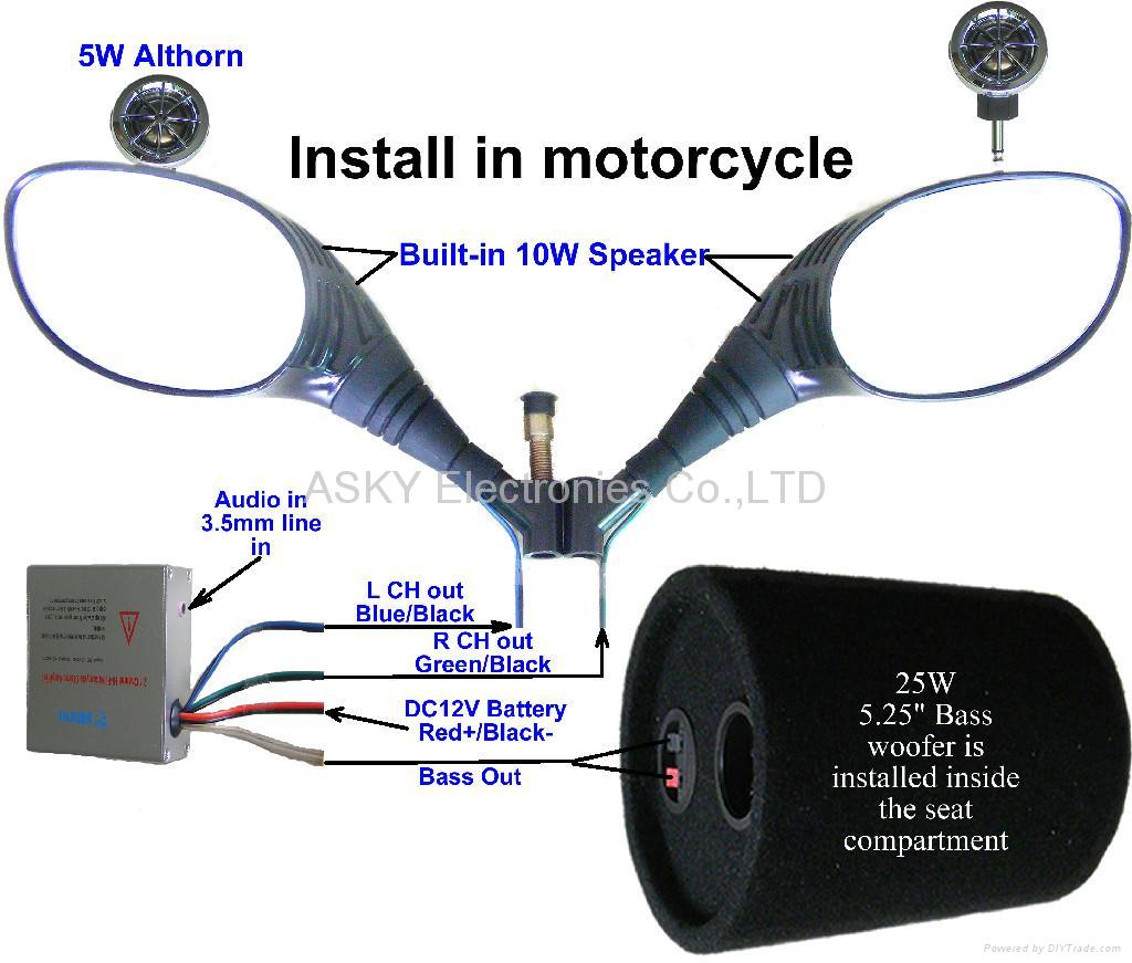 Scooter Audio Systems Mt01 Asky Hong Kong