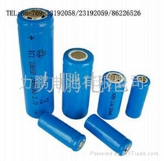 3.7V18650 Column Li-ion battery