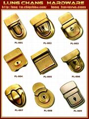 皮箱鎖具,金屬配件五金,合金轉鎖扣