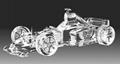 水晶车类模型