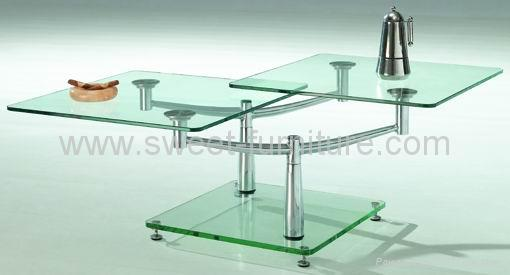 modern glass coffee table. Offer modern tempered glass
