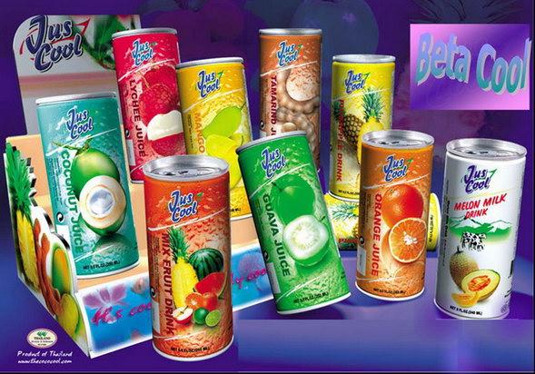 Fruit Juice - Thailand - Trading Company - Product Catalog