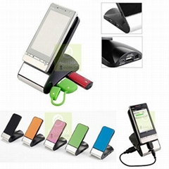 手机座充电器读卡器HUB USB2.0