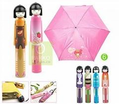 Fruit baby Umbrella with Vase Case