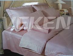 Cotton/silk bed set