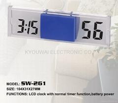 LCD 電子鐘