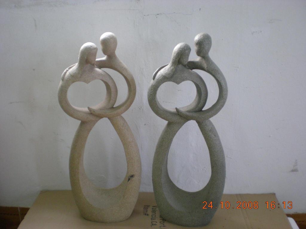 抽象人物石頭效果 1