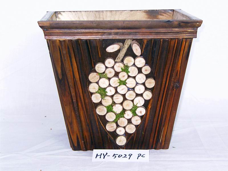 Wood Flower Pots Crafts