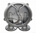 stainless steel casting vacuum pump cover