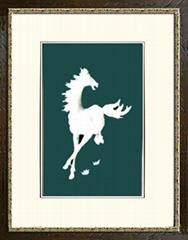 禮品*A114飛馬-玉雕裝飾畫