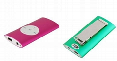 MP3 Player With Clip / 5 Colors Availabl