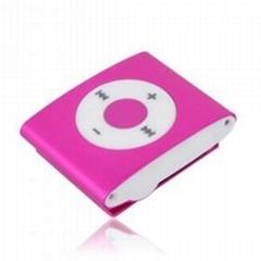 MP3 Player Clip Purple
