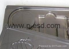 光纤产品吸塑包装盘