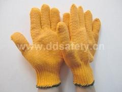 橙色棉紗手套 DKP202