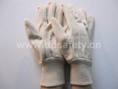 white canvas glove DCD100