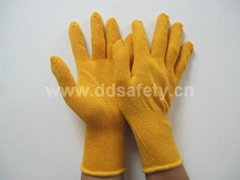 金黄色棉纱手套 DCK610