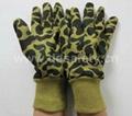 迷彩绒布手套 DCD411
