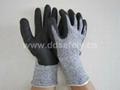 麻灰色防切割手套 DCR420
