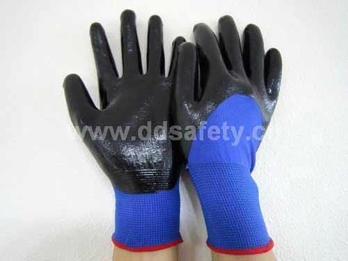 3/4 nitrile caoted glove DNN913 1