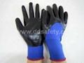 3/4 nitrile caoted glove DNN913