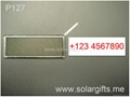 Solar power lcd flash badges sign photo frame (photo replaceable)