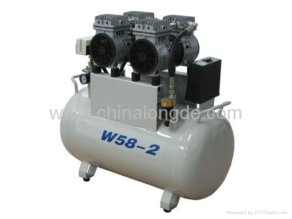 W58-2 OILess Air Compressor