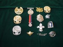 Uniform Accessories/ Metal Badges & Medels