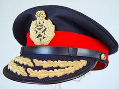 Officers Visor Caps