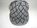 Jacquard Hat with peak
