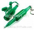 Bottle Shaped Pen, a great promotional gifts in drinking industry.