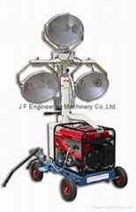 Gasoline Generator Hand-push Light Tower