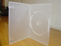 7MM slim DVD case ,black,190x135x7mm