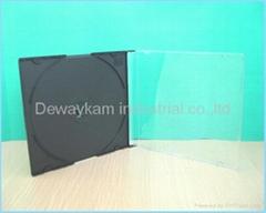 5.2mm super slim CD case,CD jewel case,142x125x5.2mm