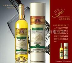 金色庄园12年窖藏高级霞多丽干白葡萄酒(W006)