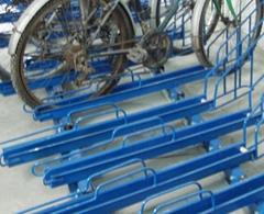 單層平移自行車停車設備